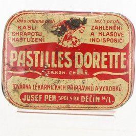 Plechová krabička PASTILLES DORETTE