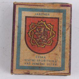 Zápalková krabička Jaroměř
