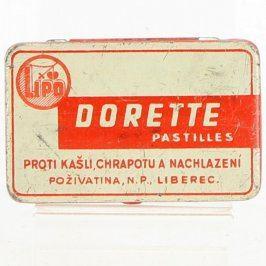 Plechová krabička LIPO DORETTE PASTILLES