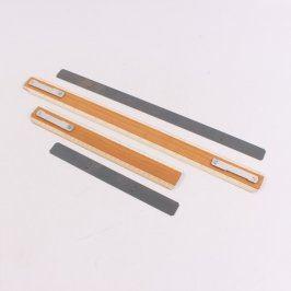 Dřevěné metry 52 a 32 cm