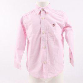 Dětská košile ZARA Kids růžové barvy