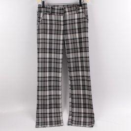 Dámské kalhoty Millan černo bílé kostkované