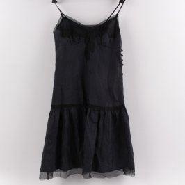 Dámské šaty černé s krajkou