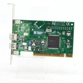 Řadič Western Digital FireWire PCI