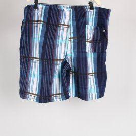 Pánské šortky modré s proužky