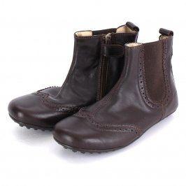 Dětské kotníkové boty hnědé