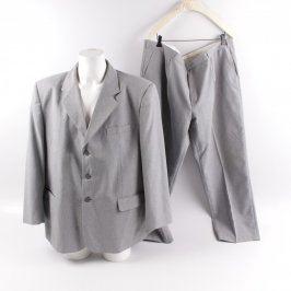 Pánský oblek Ransel světle šedý
