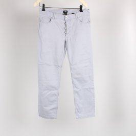 Dámské elastické kalhoty H&M světlé