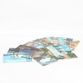 Sbírka barevných pohlednic