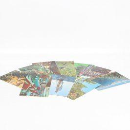 Sbírka barevných pohlednic - Spojené státy