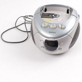 Radiomagnetofon s CD Matsui CD44