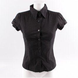 Dámská košile černá s proužky