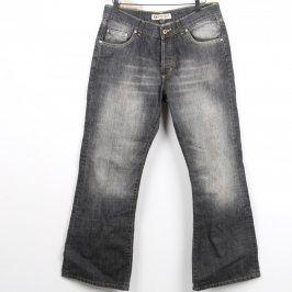 Pánské džíny Kenvelo černo šedé