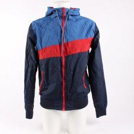 Pánská bunda Fishbone modrá s prvky červené