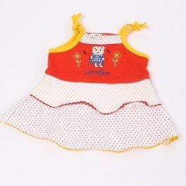 Dětské šaty Bie na ramínka