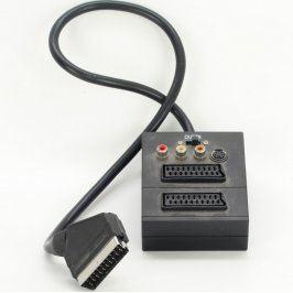 Rozbočovač 2x SCART, kompozitní, S-video