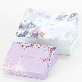 Dárkové krabičky Avon papírové s květinami