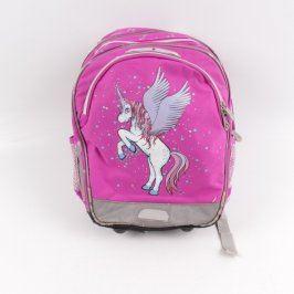 Školní batoh Topgal pro dívky fialový