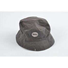 Dětský klobouček Pico šedý s letadlem