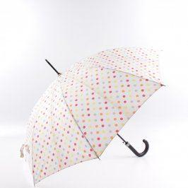 Deštník Topmove bílý s puntíky