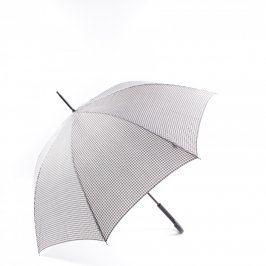 Deštník černo bílé barvy
