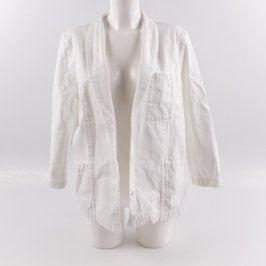 Lékařský kabát bílé barvy