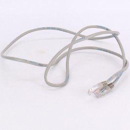 Patch kabel UTP 150 cm šedý