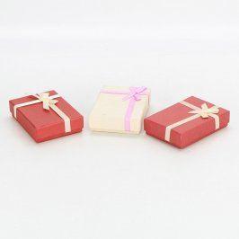 Dárkové krabičky na šperky 3 ks
