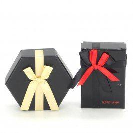 Dárkové krabičky na šperky černé 2 ks