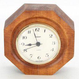 Dřevěné stolní hodiny Staiger