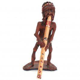 Keramická soška domorodce 22 cm