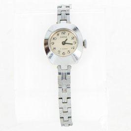 Dámské hodinky Zaria stříbrné