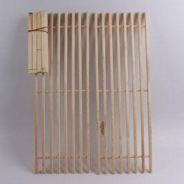 Dřevěný botník s možností složení