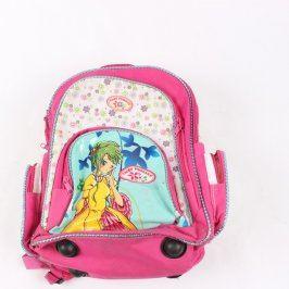 Školní batoh Fairy Princess růžový