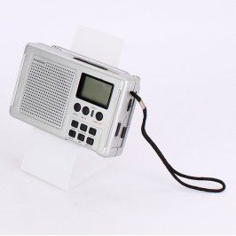 Radiopříjímač SilverCrest KH2022 stříbrný