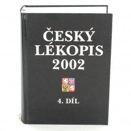 Kniha Český lékopis 2002 4. díl