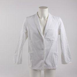 Zdravotnická košile bílá s dlouhým rukávem