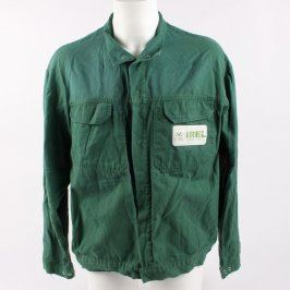 Pracovní bunda pánská zelená