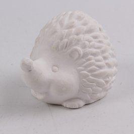 Keramický ježek 7 x 5 cm
