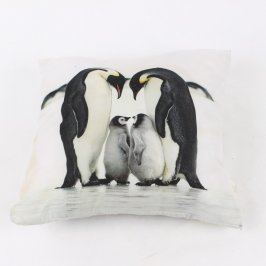 Polštář s motivem tučňáků