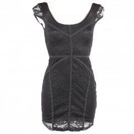 Dámské krajkové šaty černé