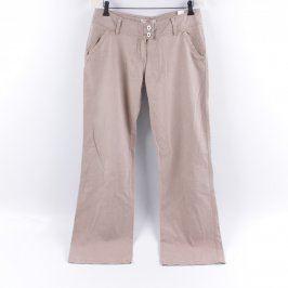 Dámské kalhoty Reserved odstín béžové