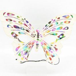 Škraboška ve tvaru motýla