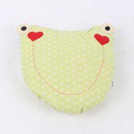 Dětský polštářek Primafima ve tvaru žáby