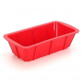 Silikonová forma červené barvy