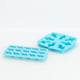 Silikonové formy na led - 2 kusy