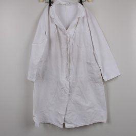 Pracovní plášť bílý s páskem