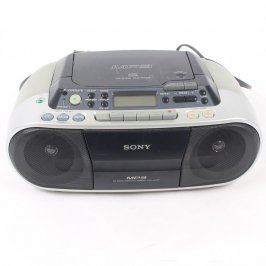 Radiomagnetofon s CD Sony CFD-S03CP