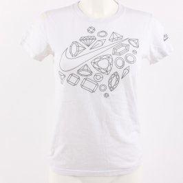 Dámské tričko Nike bílé s nápisem