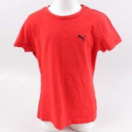 Dětské tričko Puma červené